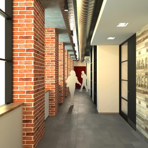 MUB INTERNAL Offices 11-01-Office corridor